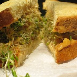 Sprouts & Hummus Sandwich recipe