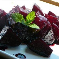 Roasted Beets With a Rosemary Glaze recipe