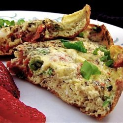 Frittata With Sun-Dried Tomatoes recipe