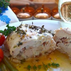 Boursin Cheese and Bacon Stuffed Chicken Breasts - for Two! recipe