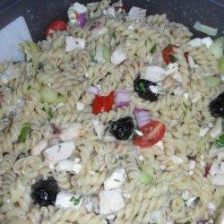 Greek Bow Tie Pasta Salad recipe