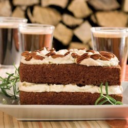 Gingerbread Cake With Stout Buttercream recipe