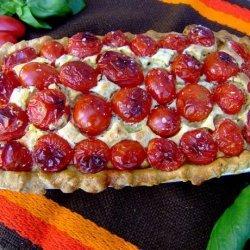 Zurie's Tomato and Cream Cheese Tart recipe