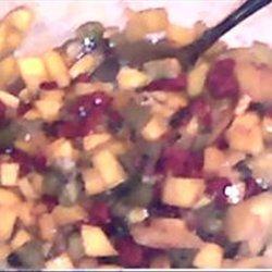Adult Fruit Salsa recipe