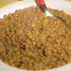 Croatian Lentil Stew recipe