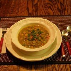Crock Pot Curry Split Pea Soup recipe