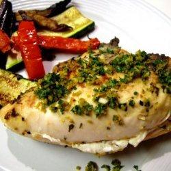 Grilled Chicken With Orange Gremolata recipe