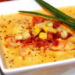 Corn Soup With Shrimp recipe