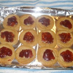 Quick and Easy Peanut Butter and Jelly Cookies recipe