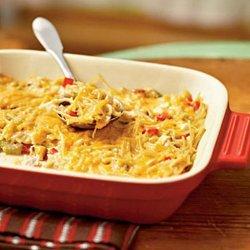 Aunt Liz's Chicken Spaghetti Casserole recipe