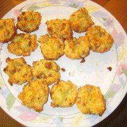 Sausage Potato Puffs recipe