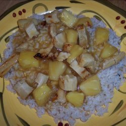 Sweet and Sour Chicken With Rice recipe