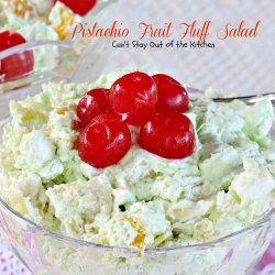 Pistachio Fluff Fruit Salad recipe
