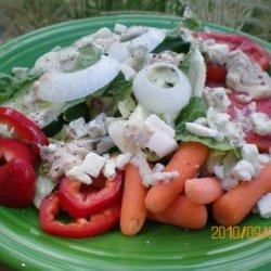 Tofu Greek Salad recipe