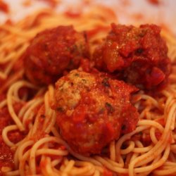 Spaghetti With Turkey Meatballs recipe