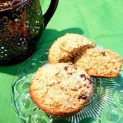 Healthy Oat Bran & Raisin Muffins recipe