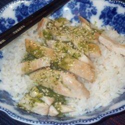 Asian Chicken Cutlets recipe
