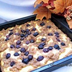 Alaskan Blueberry Coffee Cake recipe