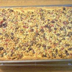 Pecan Fruitcake Squares (Or Any Nut You Prefer) recipe