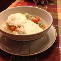 Turkey Stew With Dumplings recipe