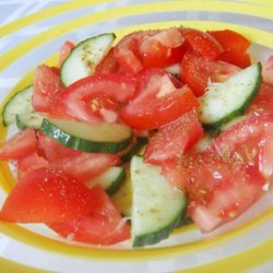 Refreshing Cucumber, Tomato and Lime Salad recipe