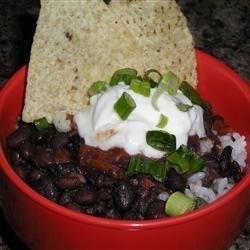 Quick Black Bean Soup recipe
