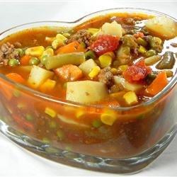 Vegetable Deer Soup recipe