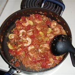 Shrimp and Veggie Stew recipe