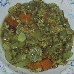Lentil Curry Soup recipe