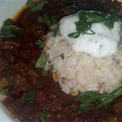 Pressure Cooker Beef Chili recipe