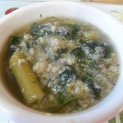Crabmeat and Asparagus Soup recipe