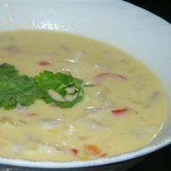 Coconut Conch Chowder recipe