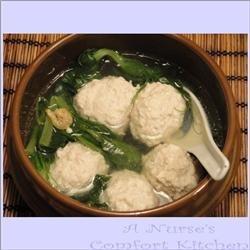 He Jia Tuan Yuan (Tofu Ball Soup for Lunar Chinese New Year) recipe