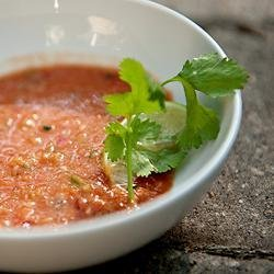 Quick and Fresh Gazpacho recipe
