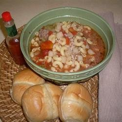 Hamburger Soup IV recipe