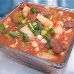 Navy Bean Soup With Sirloin Tips recipe
