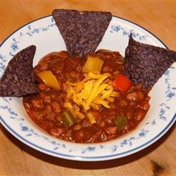 Vegetarian Pumpkin Chili recipe