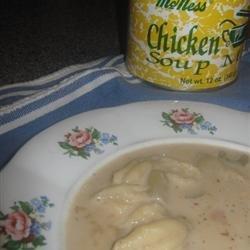 Simple Knefla Soup recipe