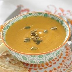 Creamy Pumpkin Curry Soup recipe