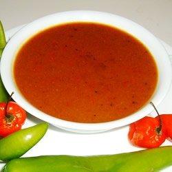 Bob's Habanero Hot Sauce - Liquid Fire recipe