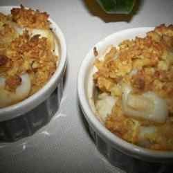 Scalloped Scallops recipe