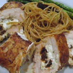 Elegant Savory Stuffed Chicken Breasts recipe