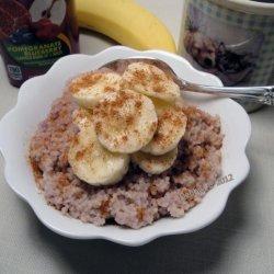 Vegan Breakfast Couscous With Fresh Fruit recipe