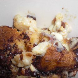 Double Choc Bread and Butter Pudding recipe
