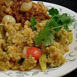 Rachael Ray's Vegetable Couscous recipe