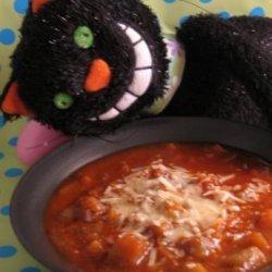 Vegetarian Eggplant (Aubergine) Soup recipe