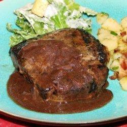 Bordeaux Wine Sauce for Steak recipe