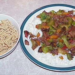 Kielbasa Chow Mein recipe