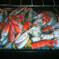 Dungeness Dungeness Crabs With White Wine-Garlic recipe