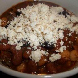Greek Chili recipe